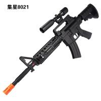 电动玩具枪 声光冲锋枪 儿童道具男孩玩具枪机关枪步抢