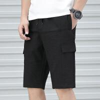 夏季短裤男士五分裤运动宽松休闲裤韩版潮流薄款沙滩裤潮K282