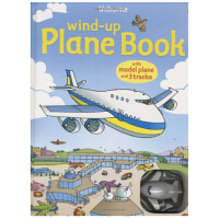 Wind-Up Plane Book. Gill Doherty发条轨道书:飞机