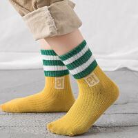 儿童袜子春秋冬季0-1岁女童小孩彩色中长筒袜婴幼儿宝宝