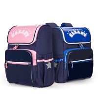 卡拉羊儿童书包-3-4-6年级小学生轻量减负护脊防泼水双肩包韩版CX2742