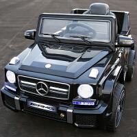 儿童电动车四轮宝宝汽车小孩玩具车可坐人双驱遥控越野电瓶车