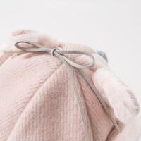 davebella戴维贝拉童装秋冬季新款女童帽子宝宝鸭舌帽DB11825