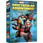 英文原版 复仇者联盟 Spectacular Adventures 3 Books in 1 3本合1 星爵 蚁人 猎
