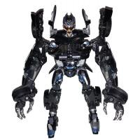 红蜘蛛 变形金刚变形玩具金刚5钢索机器人LS-03红蜘蛛擎天警车合金模型男孩HX