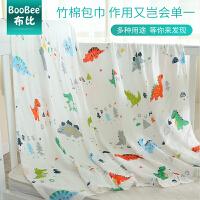 婴儿浴巾儿童包被盖毯夏季薄款婴儿纱布包巾婴儿抱毯被子