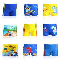 新款宝宝泳裤温泉平角儿童游泳裤小孩男童游泳馆泳装