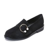 英伦风女鞋子春季新款韩版原宿软妹鞋大码平底单鞋女