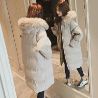 新年特惠棉衣中长款女士棉袄女装冬装新款冬季新款加厚羽中长款棉袄女面包服韩版大码宽松bf