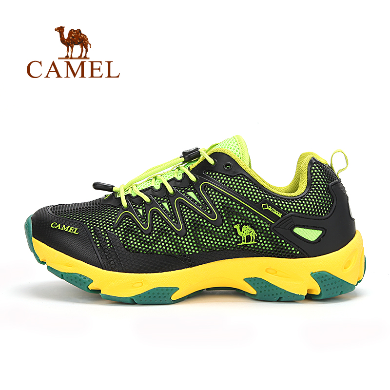 camel骆驼户外 新款防滑透气男款徒步鞋