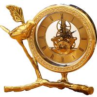 欧式钟表摆件客厅座钟台式床头柜时钟美式家居北欧酒柜装饰品