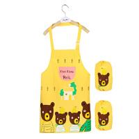 防水儿童围裙画画衣幼儿园小孩吃饭衣中大童绘画罩衣