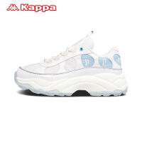 Kappa卡帕 女款复古跑鞋休闲鞋运动鞋老爹鞋 2019新款K0965MM17D
