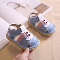 2019夏季新款婴儿鞋0-1-2-3岁学步鞋凉鞋小童镂空软底
