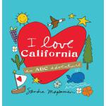 【预订】I Love California: An ABC Adventure