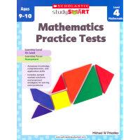 Scholastic Study Smart: Mathematics Practice Tests Level 4