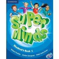 【预订】Super Minds Student's Book 1 [With DVD ROM]