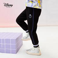 618【2件4折:79.6元】迪士尼女童加绒运动裤秋冬2020童装洋气长裤儿童宝宝裤子