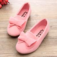 公主鞋�W生豆豆鞋 �和������涡�女童鞋