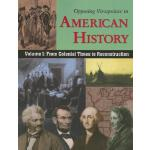 【预订】Opposing Viewpoints in American History, Volume 1: From
