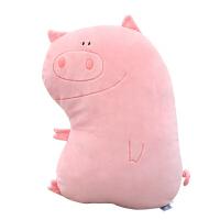 抱枕公仔 动物类 卡通INS少女心动物毛绒玩具抱枕公仔小猪玩偶娃娃狐狸可爱枕头女 50厘米左右
