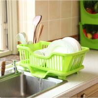 厨房碗架 独立筷子沥水桶塑料沥水架小号置物架双层镂空底部防水盘收纳滴水碗架子
