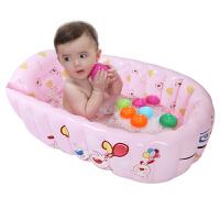 婴儿浴盆充气浴盆婴儿澡盆宝宝洗澡盆旅游好帮手