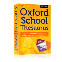 牛津学生英语辞典同义词词典 Oxford School Thesaurus 英文原版工具书 便携词汇手册 儿童课外学习