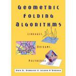 【预订】Geometric Folding Algorithms: Linkages, Origami, Polyhe