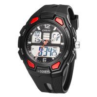时尚潮流男士多功能运动电子表LED学生户外登山腕表手表
