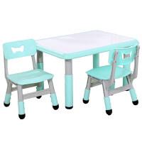 儿童桌椅套装幼儿园桌椅塑料游戏桌吃饭画画桌子可升降宝宝学习桌