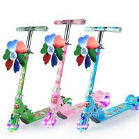 逗牛士儿童滑板车三轮闪光滑板车折叠加厚减震儿童滑滑车