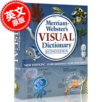 现货 英文原版 韦氏英文图解字典 Merriam-Webster Visual Dictionary/ Inc., M