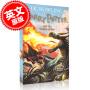 [现货]英文原版 哈利波特与火焰杯 Harry Potter and the Goblet of Fire 哈利波特 4 哈利波特系列小说 第四部 英国版 JK罗琳