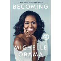 【现货】英文原版 成为 Becoming Michelle Obama 美国前总统夫人米歇尔・奥巴马自传 精装回忆录