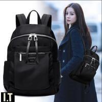 明星同款2021新款双肩包女韩版潮百搭时尚包包牛津布学生书包背包