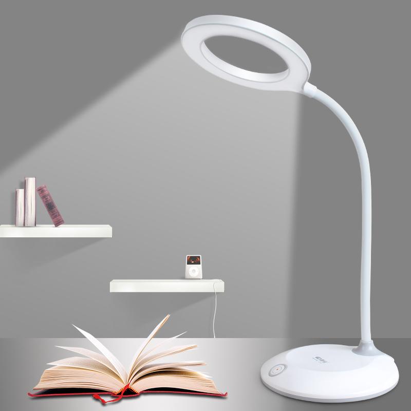 台灯护眼大学生书桌卧室充电小台灯宿舍床头儿童学习台灯