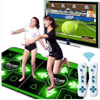 双人电视电脑两用加厚高清插卡手舞足蹈跳舞毯健身减肥体感发光跳舞毯