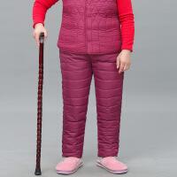 2019新款中老年羽绒裤女70-80岁妈妈内胆内穿宽松羽绒棉裤老人奶奶保暖裤