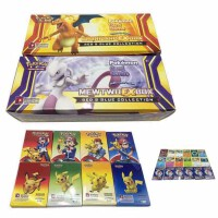 小孩子玩具神奇���PokeMon英文版卡片 玩具卡牌��痖W卡大盒408���和�游�蚩ㄆ�生日�Y物