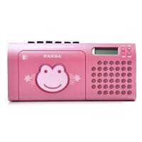 熊猫F137磁带机复读机学生英语学习教学用卡带单放机播放机录放收录收音机小学生初中生儿童放磁带的便携老式