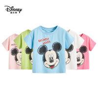 迪士尼童装男童2020夏新款针织卡通T恤短袖中大童儿童夏汗衫短袖T