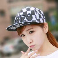 帽子棒球帽嘻哈帽平沿帽男女潮韩版时尚休闲街舞鸭舌帽