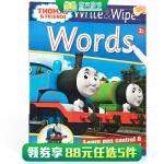 顺丰发货 英文原版进口 【可擦写】托马斯和朋友们系列 Thomas Wipe & Write Wor 单词书 学前教育