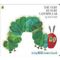 现货 英文原版 The Very Hungry Caterpillar 很饿的毛毛虫 绘本