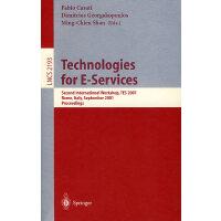 电子服务的技术Technologies for e-services