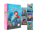英文原版 A Mermaid Tales Sparkling Collection 美人鱼故事 5册盒装 儿童桥梁章节