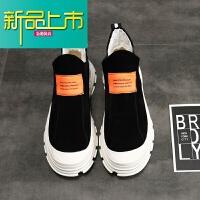 新品上市18新款马丁靴男短靴韩版青春潮流百搭高帮潮鞋中帮网红靴子