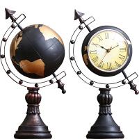 地球仪摆件家居摆设客厅电视柜欧式酒柜装饰品电视柜摆钟