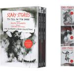 英文原版小说 在黑暗中讲述的恐怖故事系列 3册套装 惊悚恐怖小说 Alvin Schwartz 阿尔文・施瓦茨 Sca